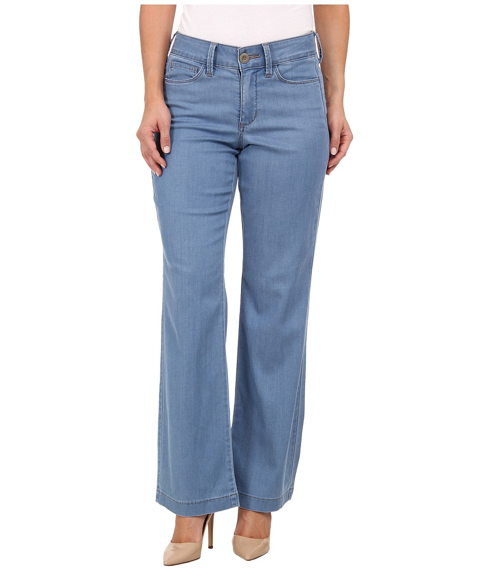 NYDJ Petite - Petite Wylie Trouser - Chambray (Norway) Women's Casual Pants