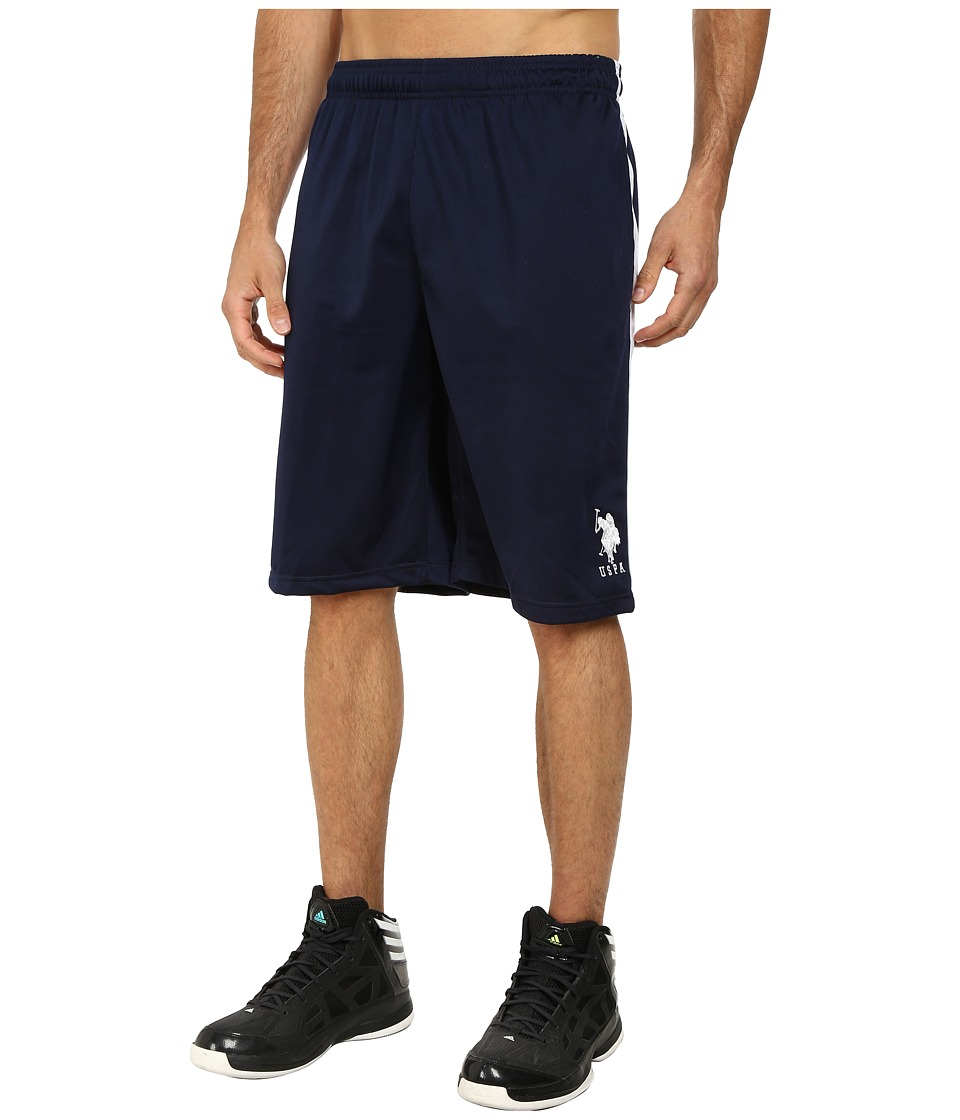 U.S. POLO ASSN. - Tricot Athletic Shorts (Classic Navy) Men's Shorts