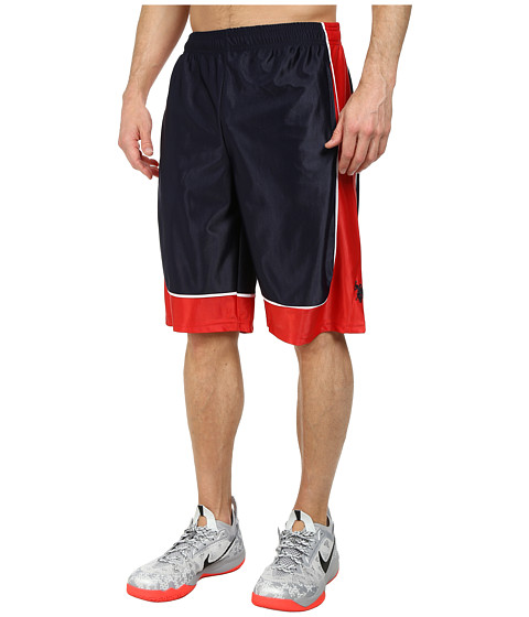 U.S. POLO ASSN. - Athletic Shorts with Dazzle Side Panel (Classic Navy) Men