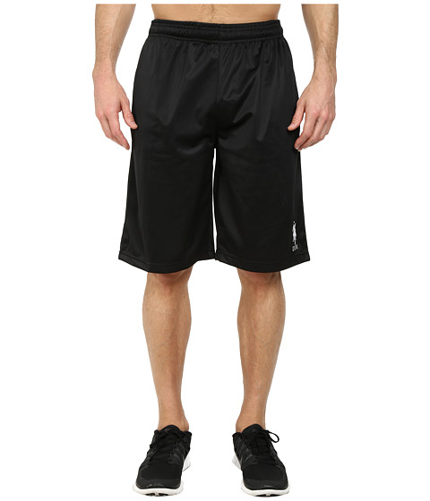 U.S. POLO ASSN. - Solid Tricot Athletic Shorts (Black) Men