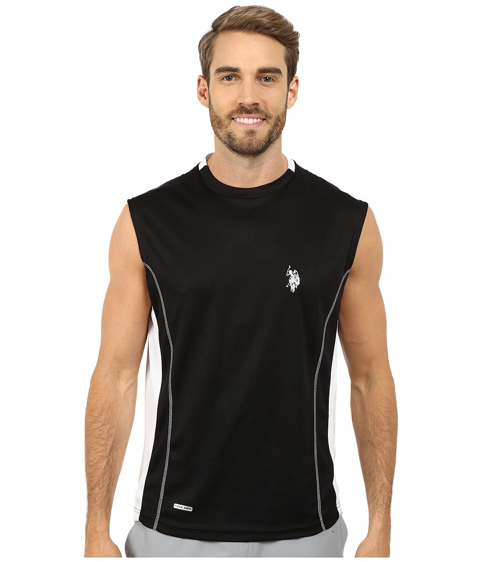 U.S. POLO ASSN. - Muscle T-Shirt (Black) Men's T Shirt