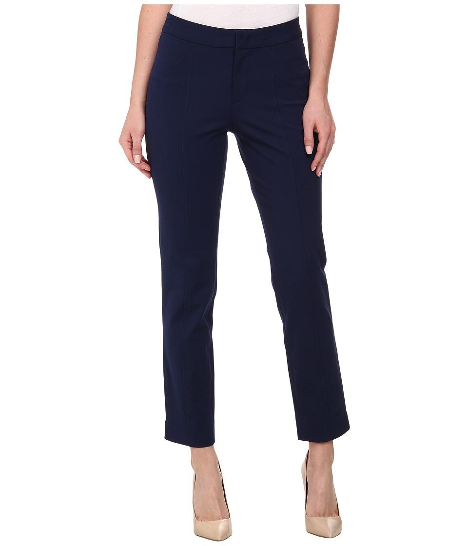 NYDJ - Ankle Pant Bi-Stretch (Oxforf Blue) Women's Casual Pants