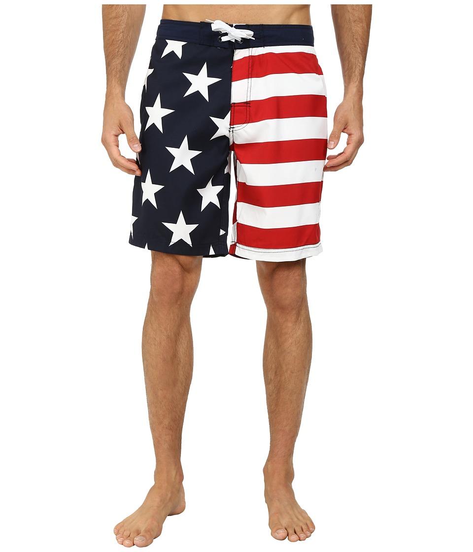 U.S. POLO ASSN. Americana Boardshorts (Classic Navy) Men