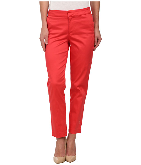 NYDJ - Corynna Skinny Ankle (Hot Coral) Women's Casual Pants