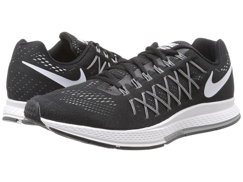 Nike - Air Zoom Pegasus 32 (Black/Dark Grey/Pure Platinum/White) Men's Running Shoes