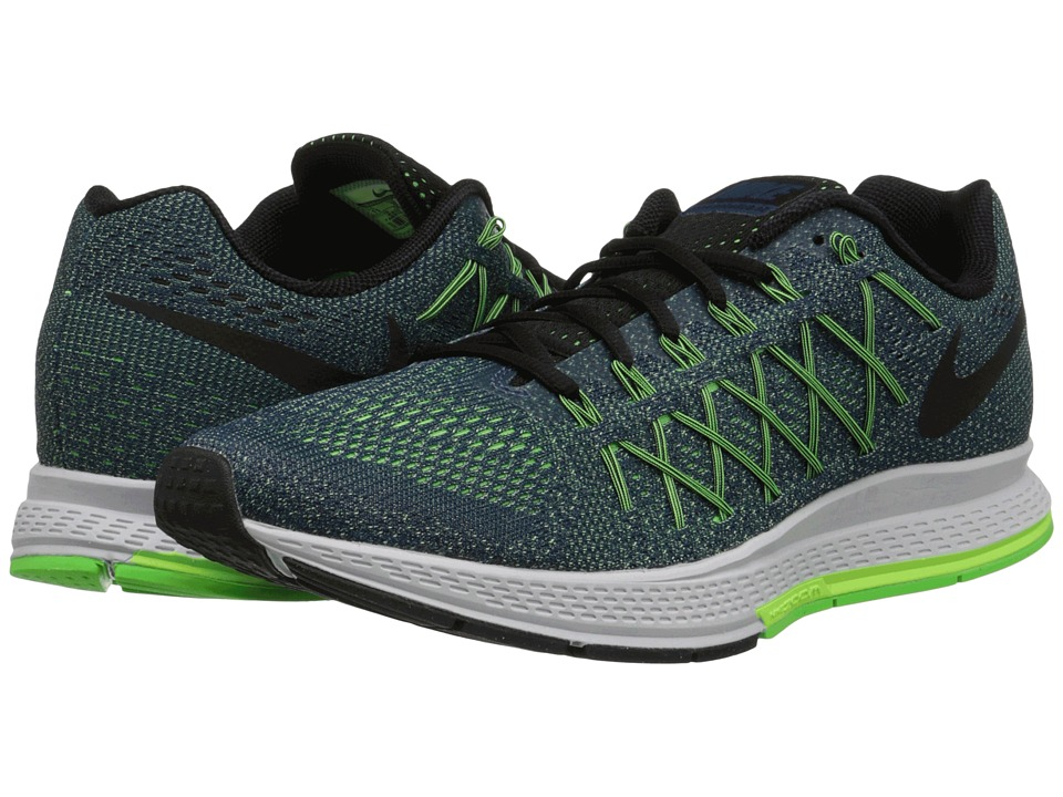 Nike - Air Zoom Pegasus 32 (Deep Royal Blue/Ghost Green/Voltage Green/Black) Men's Running Shoes