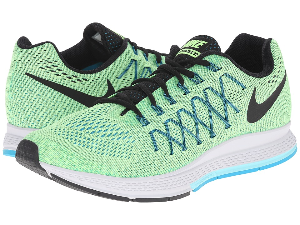 Nike - Air Zoom Pegasus 32 (Ghost Green/Copa/Blue Lagoon/Black) Men