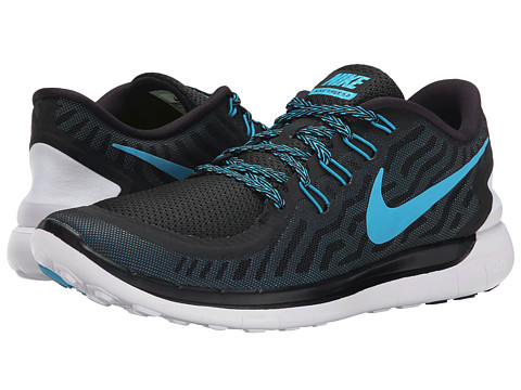 ... Men's Free 5.0 Running Sneakers from Finish Line | upcitemdb UPC  888409869929 product image for Nike - Free 5.0 (Black/Dark Electric Blue/  ...