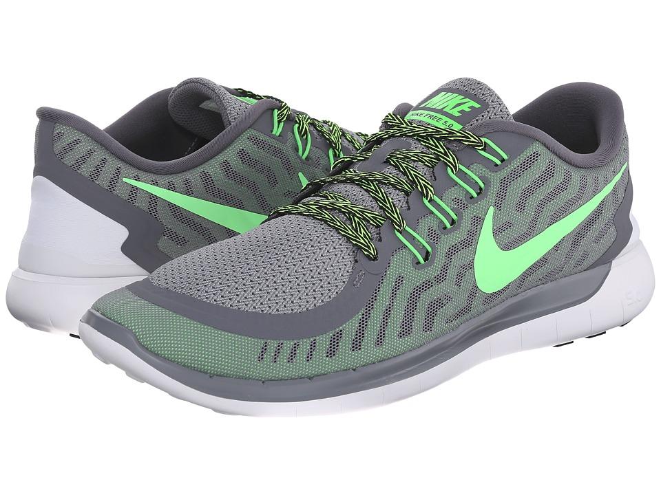 Nike - Free 5.0 (Cool Grey/Voltage Green/Wolf Grey/Green Strike