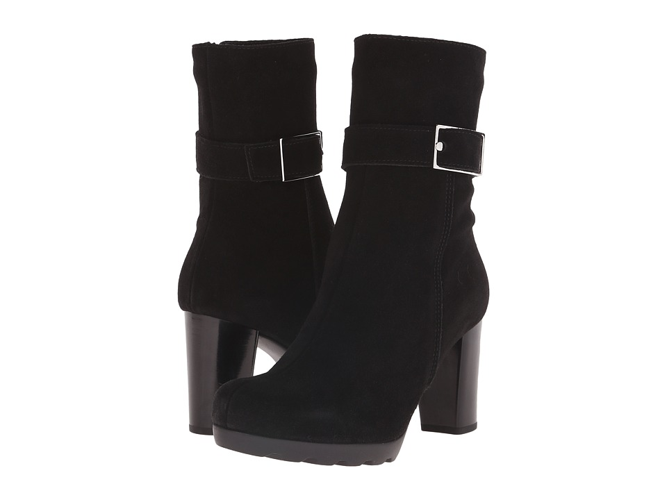 La Canadienne - Mindie (Black Suede) Women's Dress Boots