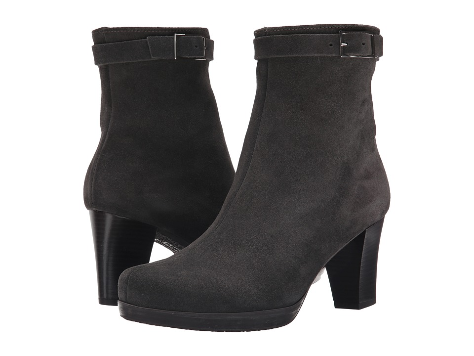 La Canadienne - Keren (Moka Suede) Women's Dress Boots