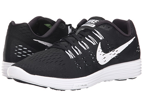 Nike - LunarTempo (Black/White/White) Men's Running Shoes