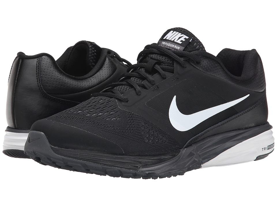 Nike - Tri Fusion Run (Black/Dark Grey/White) Men's Running Shoes