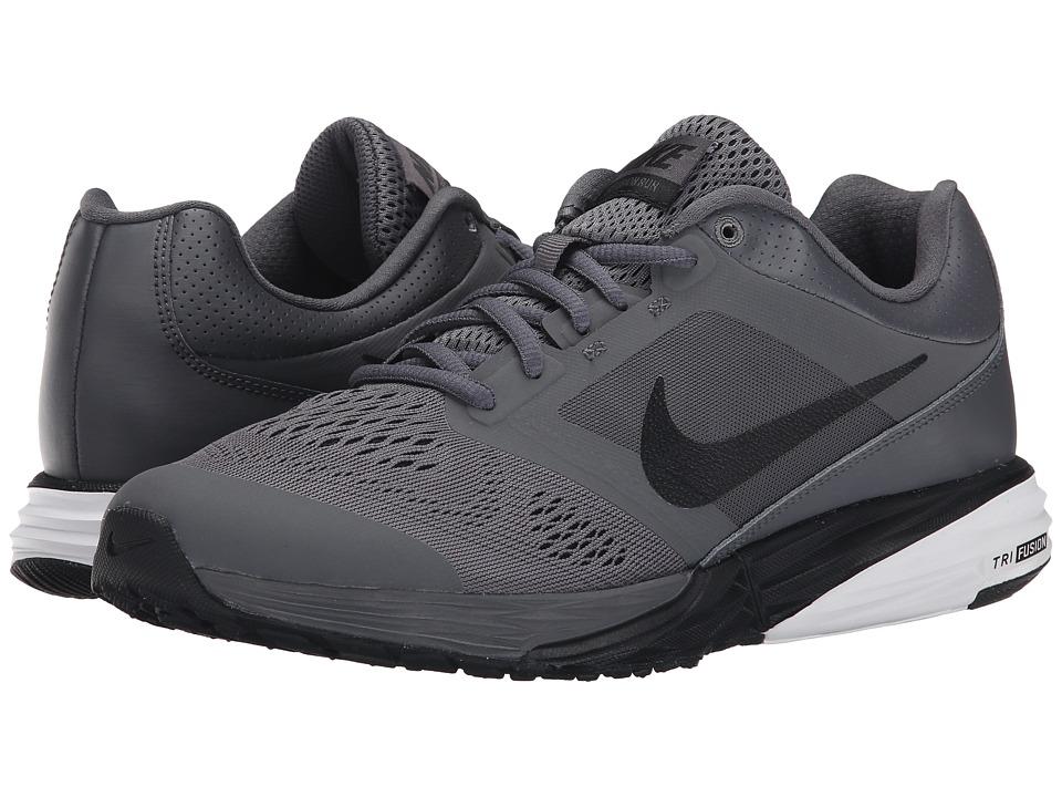 Nike - Tri Fusion Run (Dark Grey/White/Black) Men's Running Shoes