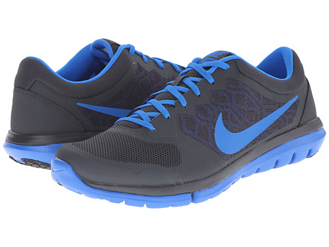 Nike - Flex 2015 RUN (Anthracite/Soar) Men's Running Shoes
