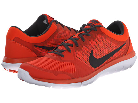 Nike - Flex 2015 RUN (Team Orange/Anthracite/White/Black) Men's Running Shoes
