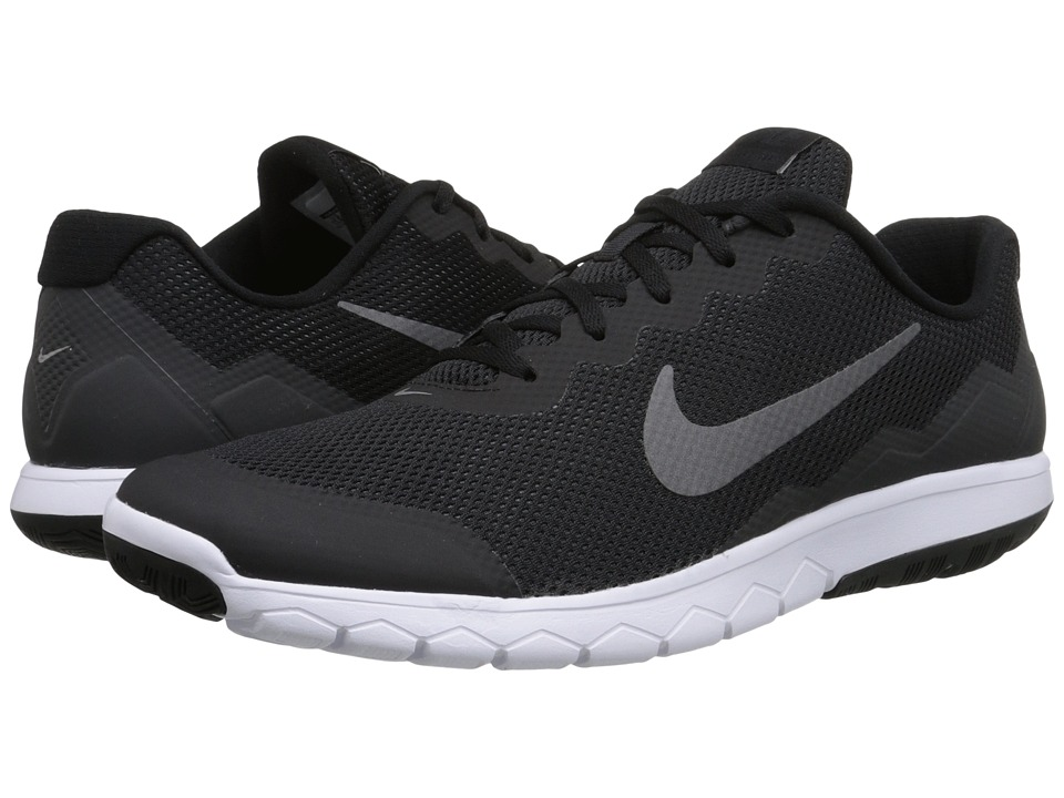 Nike - Flex Experience Run 4 (Black/Anthracite/White/Metallic Dark Grey) Men's Running Shoes