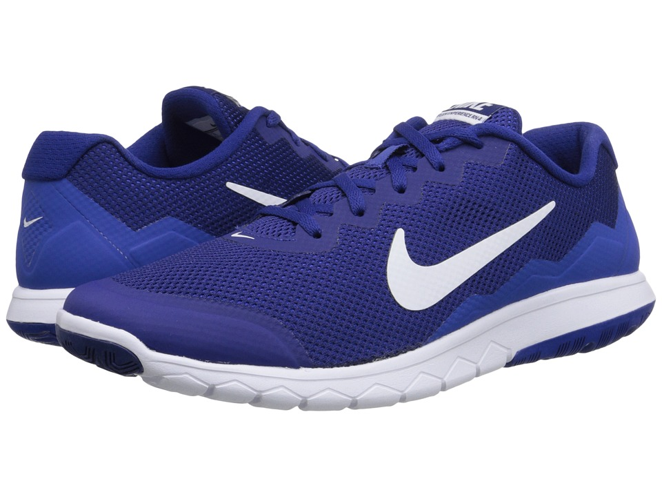 Nike - Flex Experience Run 4 (Deep Royal Blue/Game Royal/White) Men