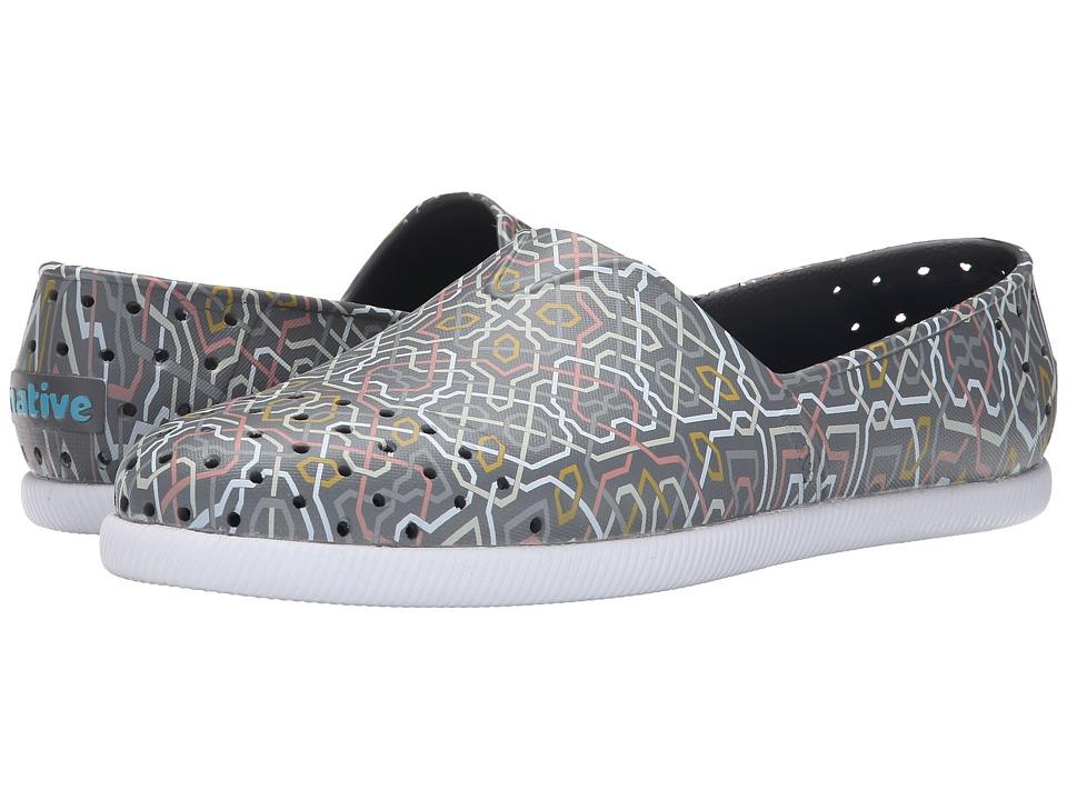 Native Shoes - Verona (Dublin Grey/Shell White/Safi Mosaic) Shoes