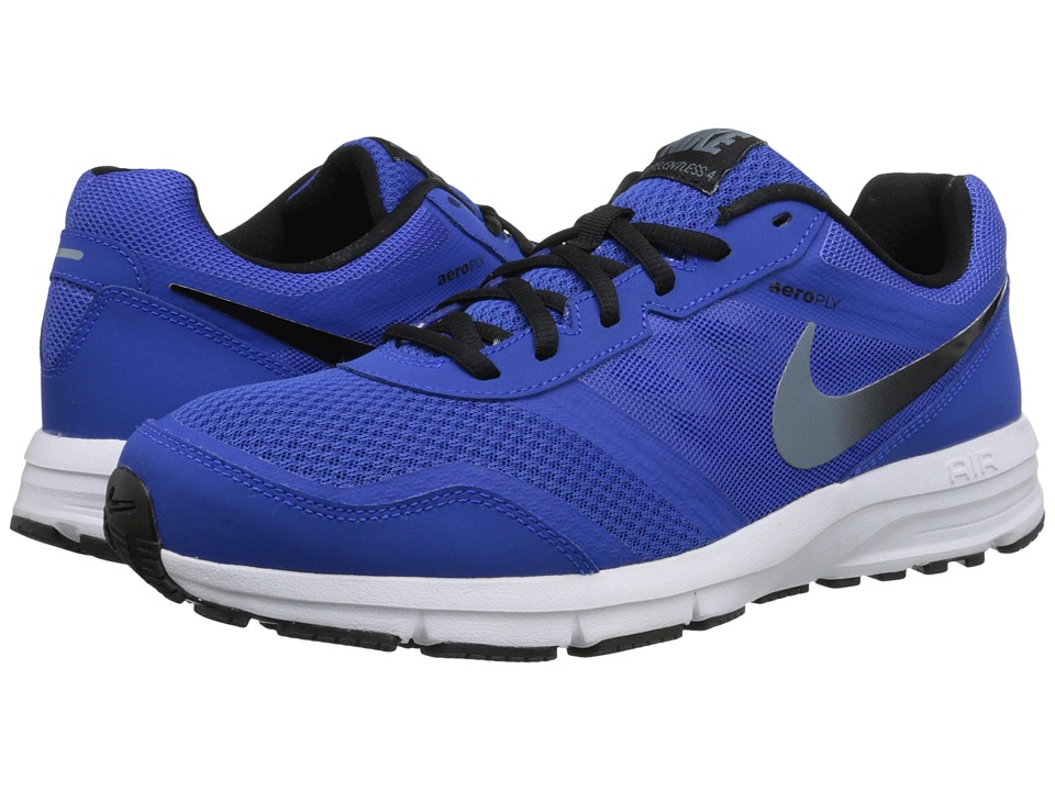 Nike - Air Relentless 4 (Lyon Blue/Black/White/Blue Graphite) Men's Running Shoes