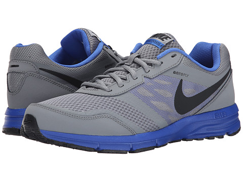 Nike - Air Relentless 4 (Cool Grey/Black/Game Royal) Men
