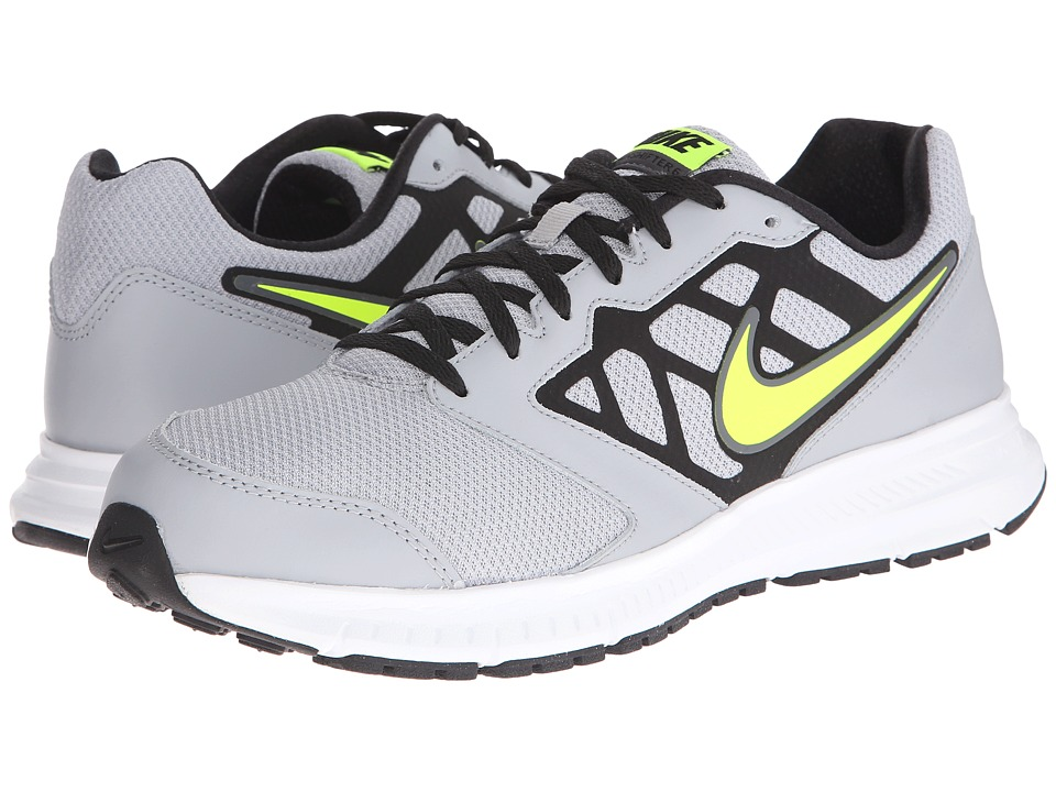 Nike - Downshifter 6 (Wolf Grey/Black/White/Volt) Men