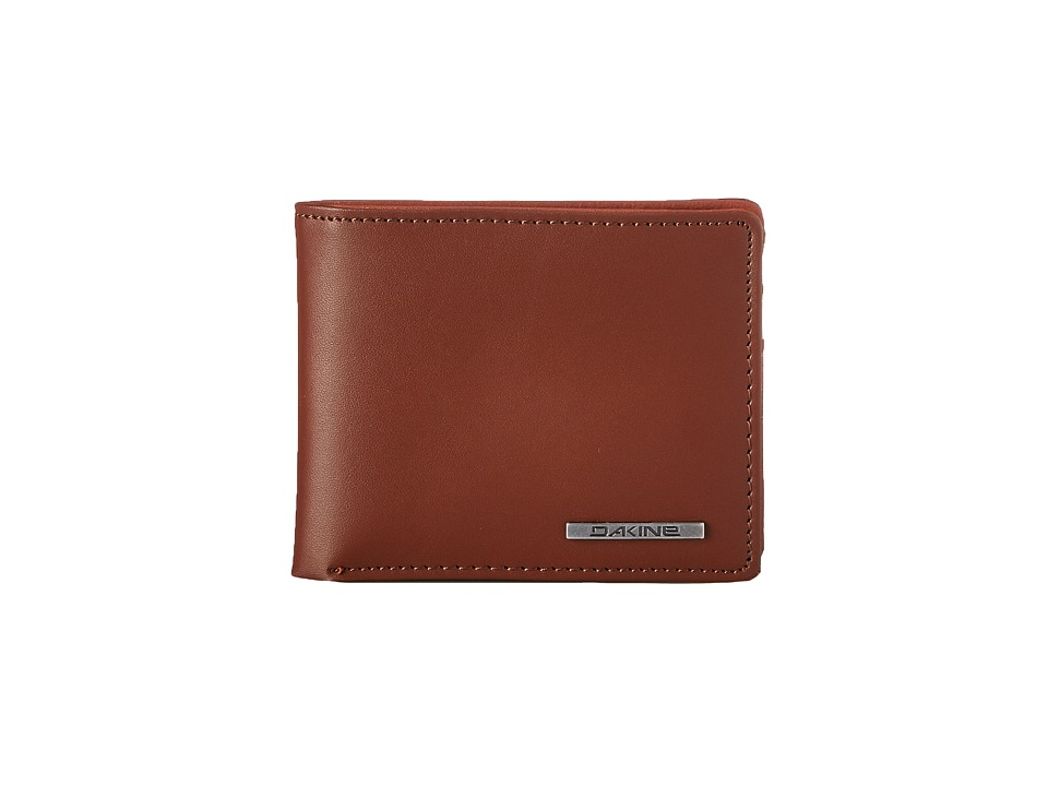Dakine - Agent Leather Wallet (Brown) Wallet Handbags