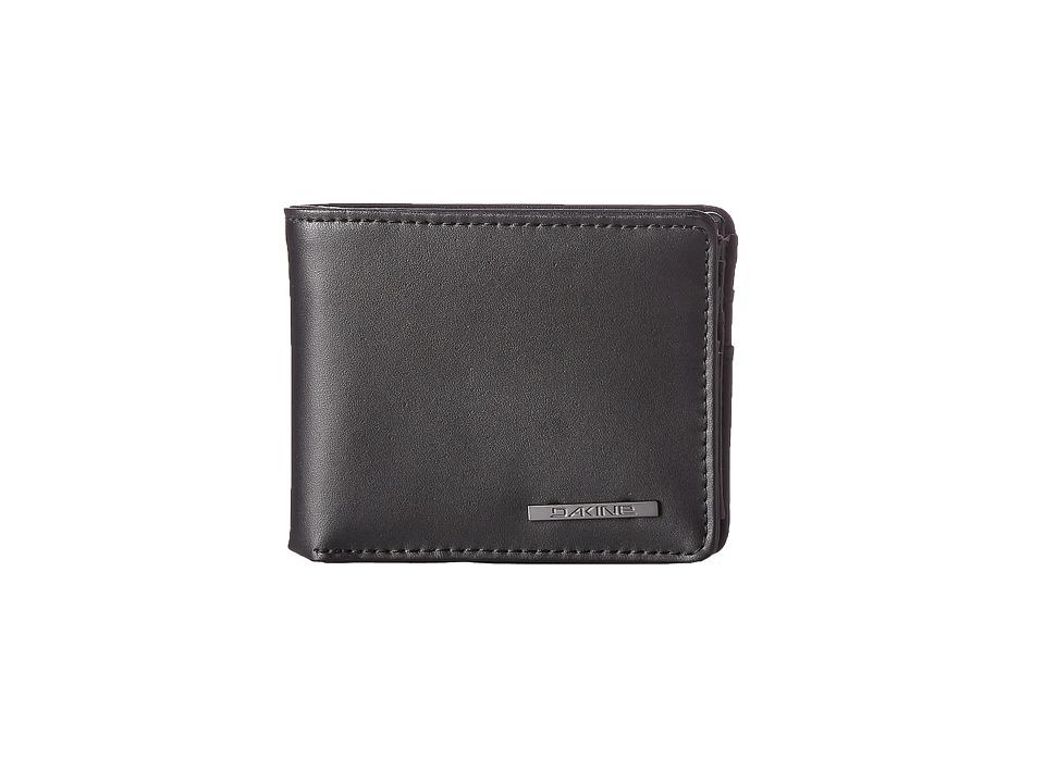 Dakine - Agent Leather Wallet (Black) Wallet Handbags