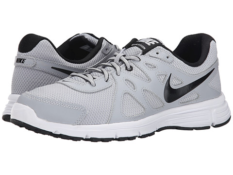 Nike - Revolution 2 (Wolf Grey/Black/White) Men's Running Shoes
