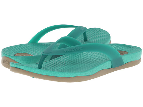 Native Shoes - Paolo (Porcelain Green/Utili Green) Sandals