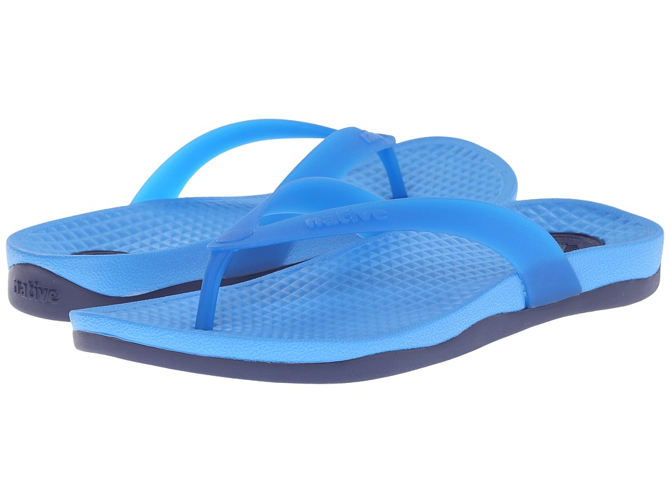 Native Shoes - Paolo (Megamarine Blue/Regatta Blue) Sandals
