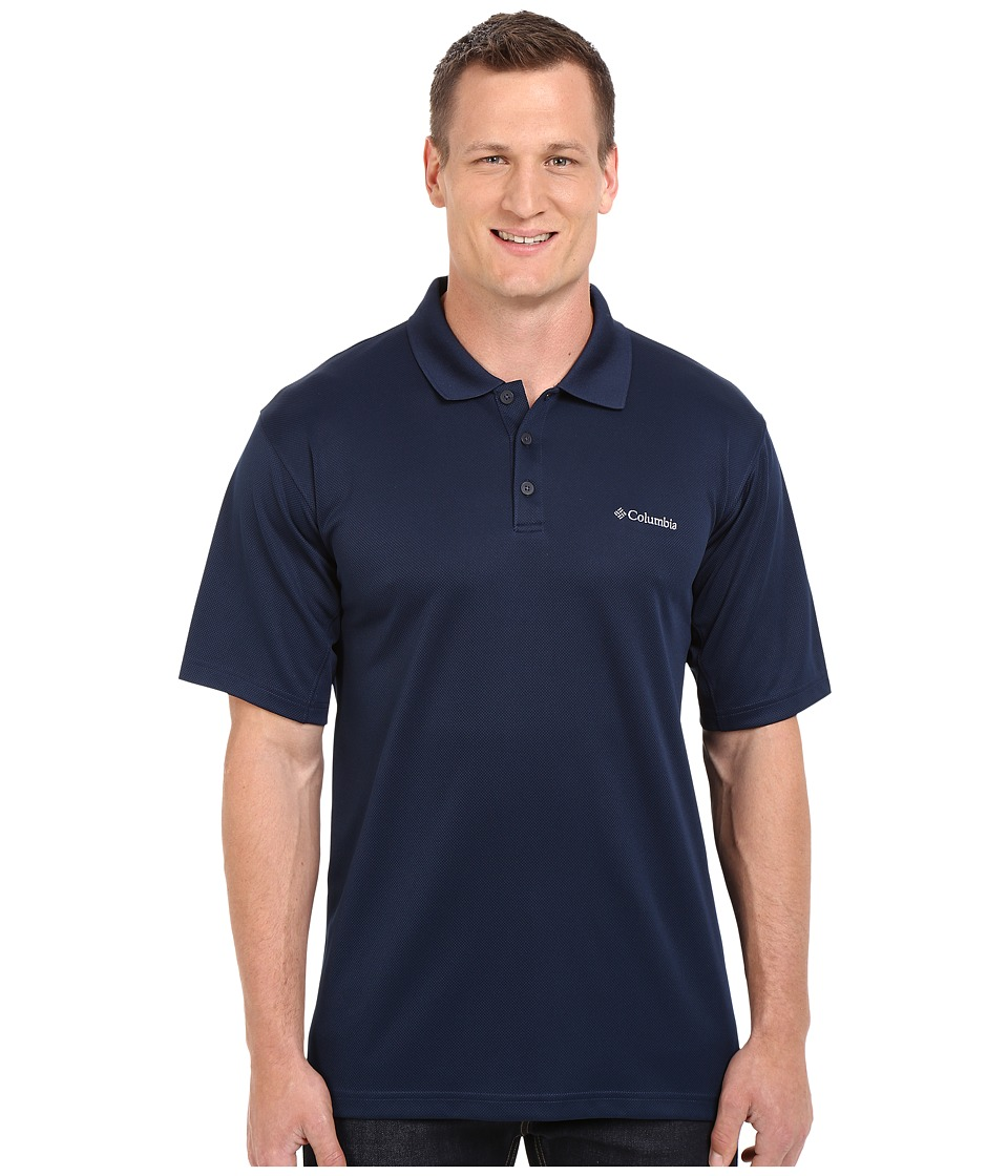Columbia - Big Tall New Utilizer Polo (Collegiate Navy) Men's Short Sleeve Pullover