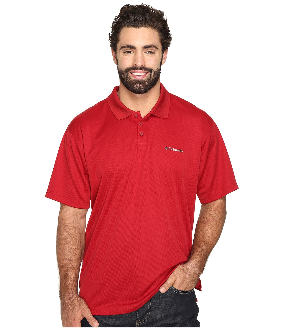Columbia - Big Tall New Utilizer Polo (Red Velvet) Men's Short Sleeve Pullover