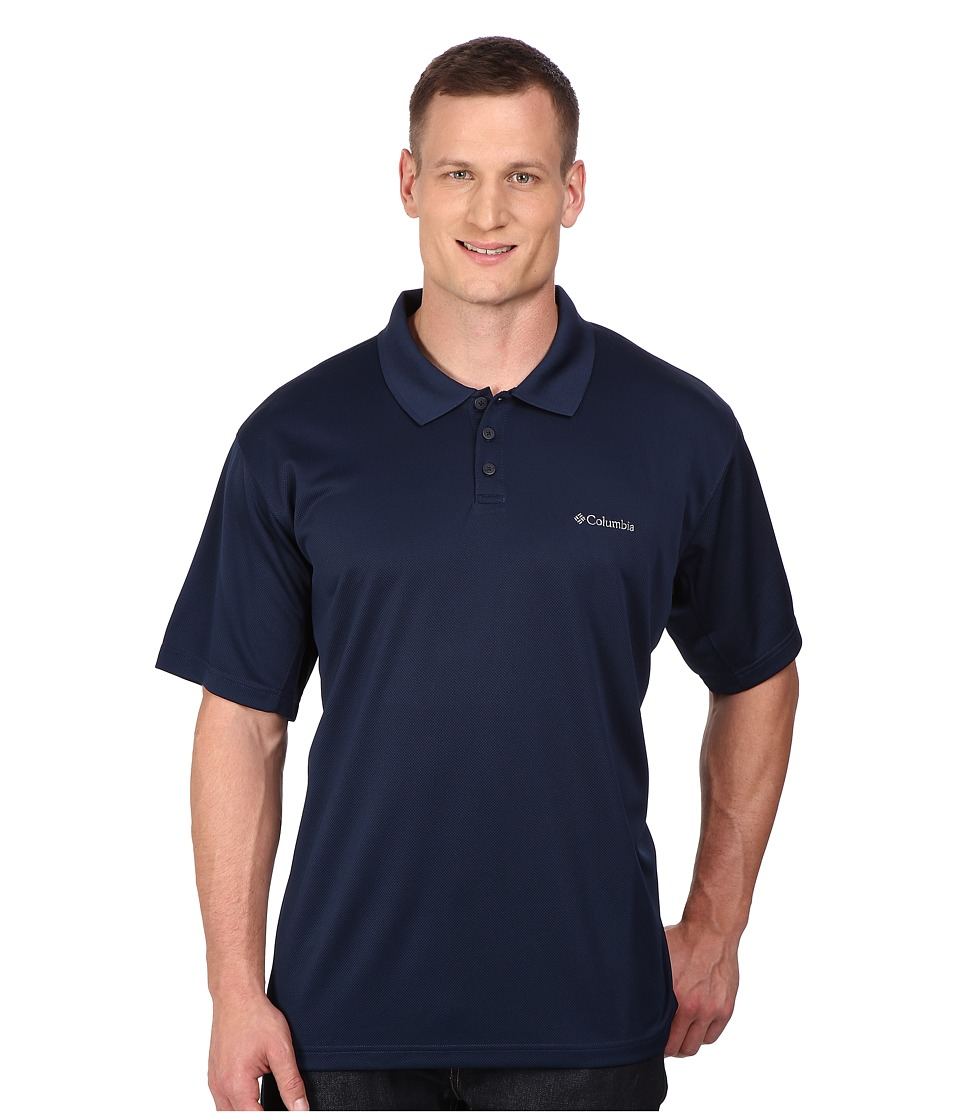 Columbia Big Tall New Utilizer Polo Collegiate Navy Mens Short Sleeve Pullover
