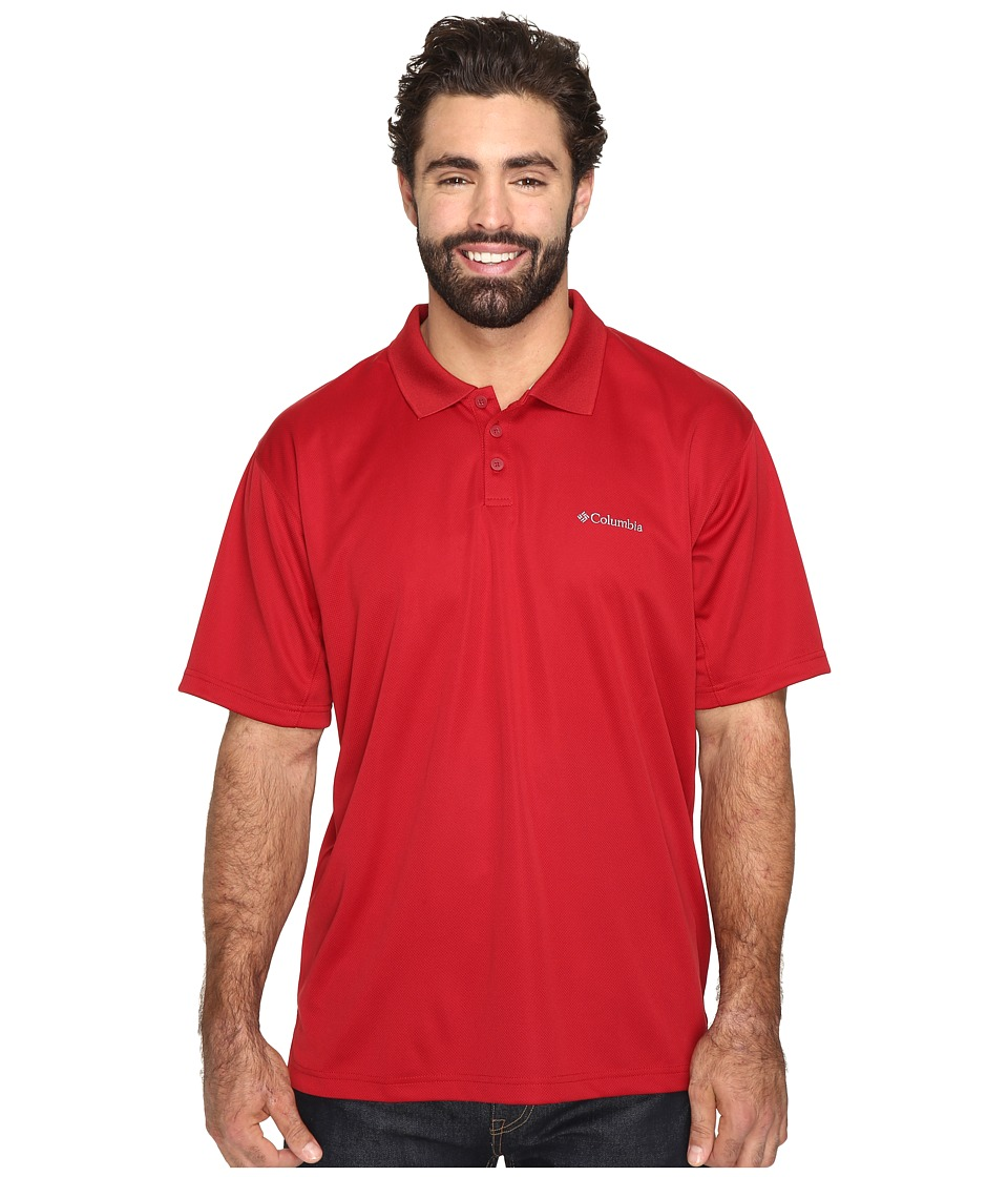 Columbia - Big Tall New Utilizer Polo (Red Velvet) Men's Short Sleeve Pullover