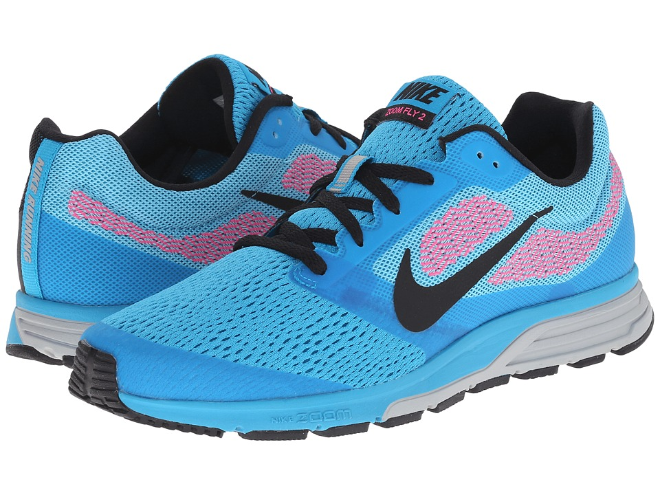 Nike - Zoom Fly 2 (Blue Lagoon/Tide Pool Blue/Pink Pow/Black) Women's Running Shoes