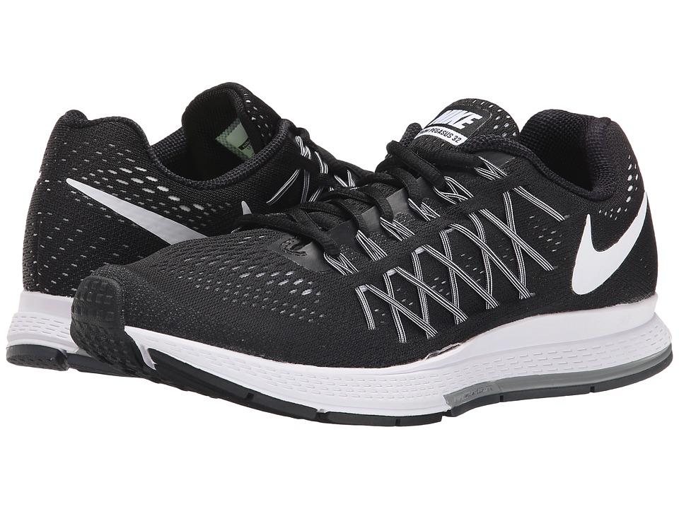 Nike Air Zoom Pegasus 32 (Black/Pure Platinum/White) Women