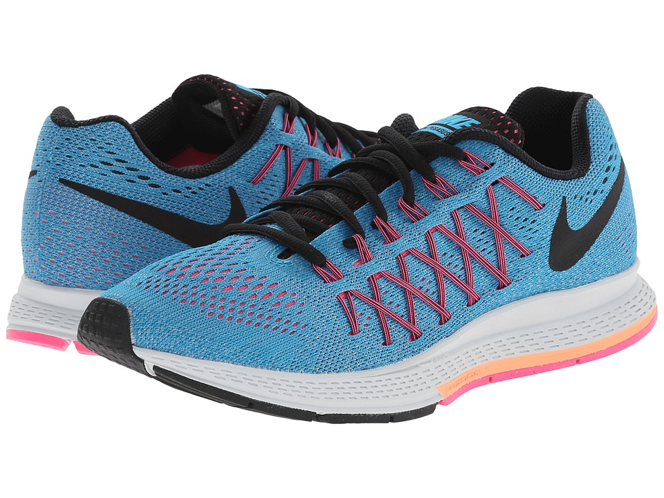 Nike - Air Zoom Pegasus 32 (Blue Lagoon/Sunset Glow/Pink Pow/Black) Women