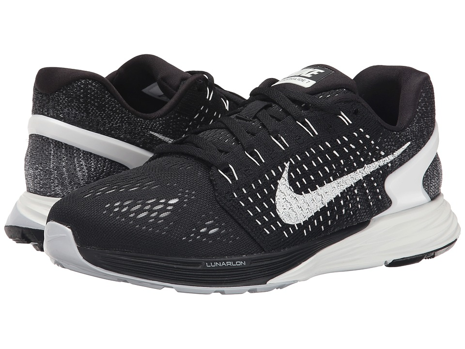 Nike - Lunarglide 7 (Black/Anthracite/Wolf Grey/Summit White) Women's Running Shoes