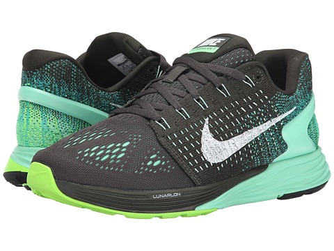 best service 346a4 70fdd UPC 888409353565 product image for Nike - Lunarglide 7 (Sequoia White Green  Glow ...