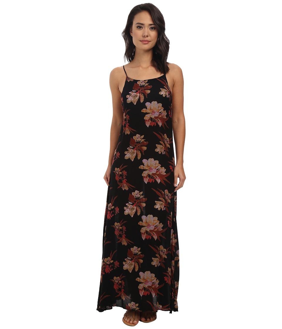 Free People - Go To Gauze Printed Star Chasing Slip (Raven Combo) Women's Dress