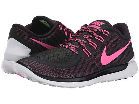 Nike - Free 5.0 (Black/Pink Foil/Pink Glow/Pink Pow) Women