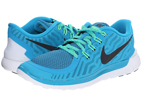 Nike - Free 5.0 (Blue Lagoon/Voltage Gree/Copa/Black) Women