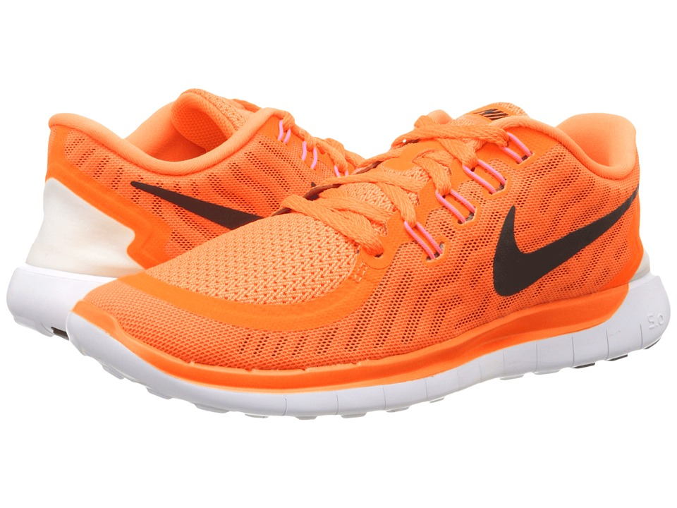 Nike - Free 5.0 (Bright Citrus/Hot Lava/Black) Women's Running Shoes