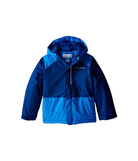 Columbia Kids - Lightning Lift Jacket (Little Kids/Big Kids) (Marine Blue/Hyper Blue) Boy