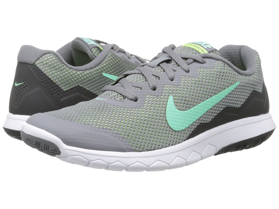 Nike - Flex Experience Run 4 (Cool Grey/Anthracite/Ghost Green/Green Glow) Women's Running Shoes