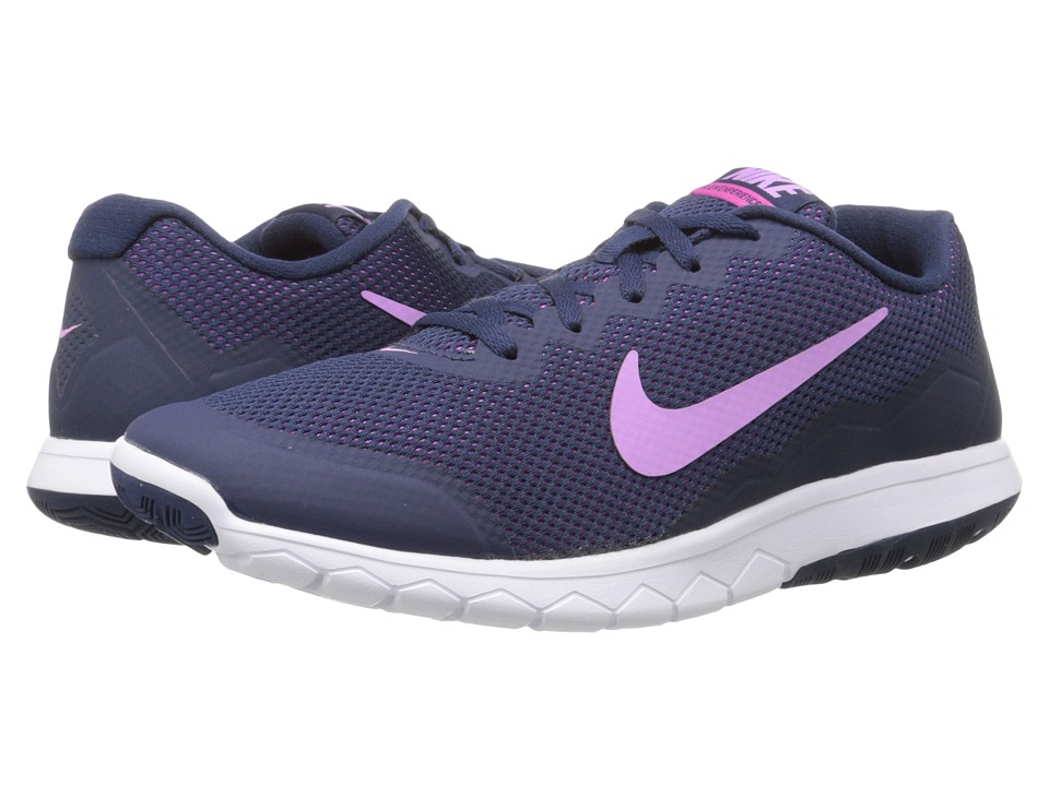 Nike - Flex Experience Run 4 (Midnight Navy/Obsidian/Fuchsia Flash/Fuchsia Glow) Women's Running Shoes