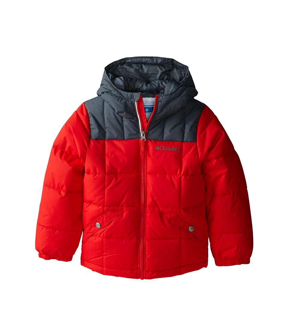 Columbia Kids - Gyroslope Jacket (Little Kids/Big Kids) (Bright Red/Graphite) Boy's Coat
