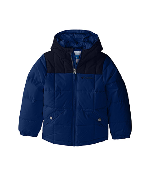 Columbia Kids - Gyroslope Jacket (Little Kids/Big Kids) (Marine Blue/Collegiate Navy) Boy