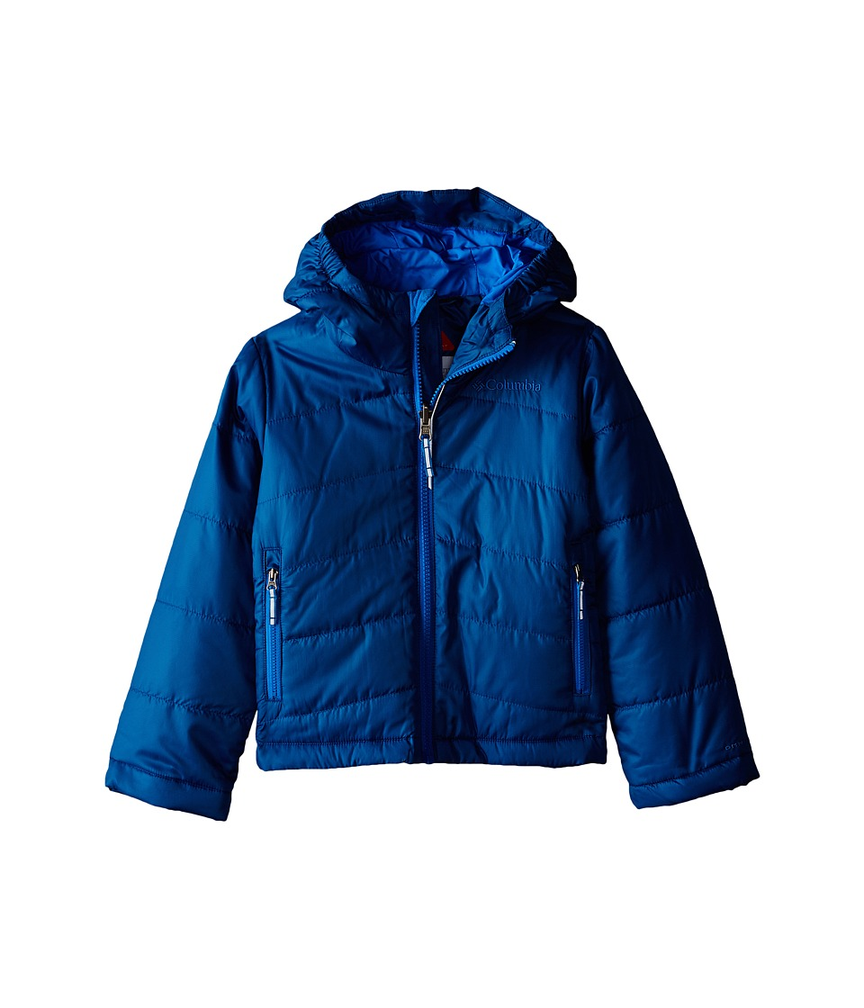 Columbia Kids - Shimmer Me Jacket (Little Kids/Big Kids) (Marine Blue/Hyper Blue) Boy